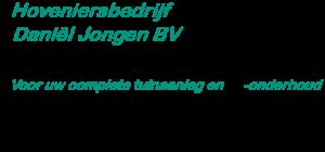 Hoveniersbedrijf Daniel Jongen